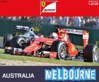 Vettel G.P Austrália 2015