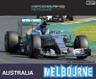 Rosberg G.P Austrália 2015