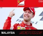 Vettel G.P. Malásia 2015