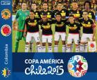Colômbia Copa América 2015