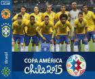 Brasil Copa América 2015