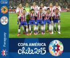 Paraguai Copa América 2015