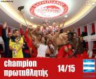 Olympiacos FC campeão 2014-2015