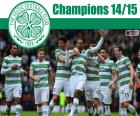 Celtic Glasgow, campeão da Liga Escocesa de Futebol 2014-2015