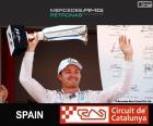 Rosberg G.P Espanha 2015