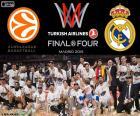 Real Madrid, Euroliga 2015