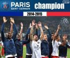 PSG, campeão 2014-2015