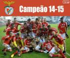 Benfica, campeão 2014-2015