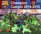 FC Barcelona, campeão 2014-2015