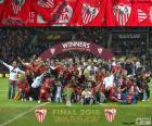 Sevilla, campeão Europa League 15