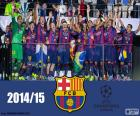 FC Barcelona campeão Champions 15