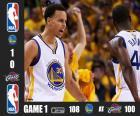 NBA finais 2015, 1º jogo