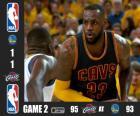 NBA Finals 2015, 2º jogo