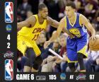 NBA Finals 15, Jogo 6
