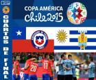 CHI - URU, Copa América 2015