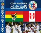 Quartas de final, Bolívia vs Peru, Copa América Chile 2015