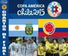 ARG - COL, Copa América 2015