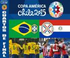 BRA - PAR, Copa América 2015