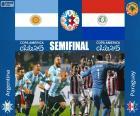 ARG - PAR, Copa América 2015