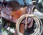 Sela western com laço