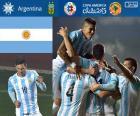 Argentina, o segundo seleção finalista da Copa América 2015