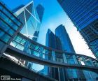 Escritórios de edifícios Hong Kong
