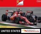 Vettel, G.P Estados Unidos 2015