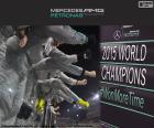 Mercedes F1 Team campeão 2015