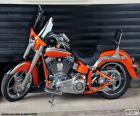 Harley Davidson laranja