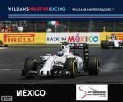 Valtteri Bottas, Williams, Grande Prêmio do México 2015, terceiro lugar
