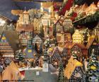 Mercado de Natal, enfeites