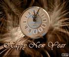 Ano novo relógio