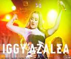 Iggy Azalea, é uma rapper e a modelo australiana
