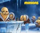 Os Minions na Antártida
