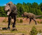 Três dinossauros