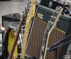 Guitarras e amplificador