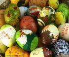 Ovos de Páscoa sortidos