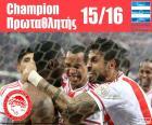 Olympiacos FC campeão 2015-2016