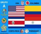 Grupo A, Copa América centenario