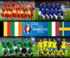 Grupo E, Euro 2016