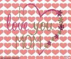 Eu te amo mãe