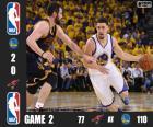 NBA Finals 2016, 2º jogo