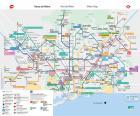 Mapa do Metro de Barcelona
