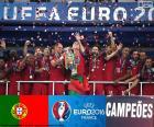 Portugal, campeão Euro 2016