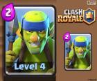 Goblins Lanceiros do Clash Royale
