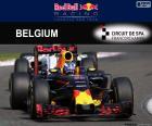 Daniel Ricciardo GP Bélgica 2016