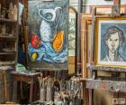 Oficina do artista pintor
