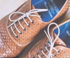 Sapatos de homem de couro