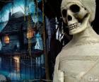Múmia e casa assombrada