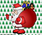 Papai Noel, desenho